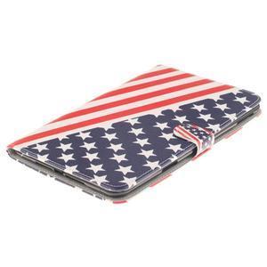 Standy puzdro pre tablet iPad mini 4 - US vlajka - 3