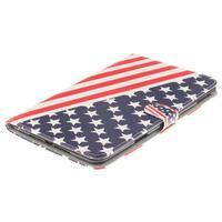 Standy puzdro pre tablet iPad mini 4 - US vlajka - 3/7