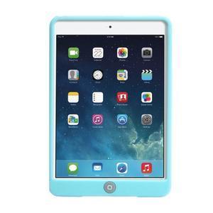 silikónové puzdro pre tablet iPad mini 4 - cyan - 3