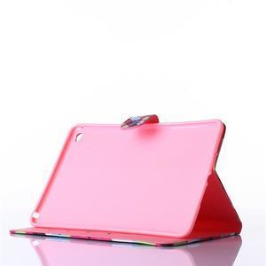 Knížkové pouzdro na tablet iPad mini 4 - zamilované sovičky - 3