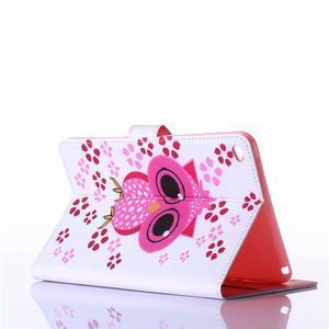 Knížkové puzdro pre tablet iPad mini 4 - sova - 3