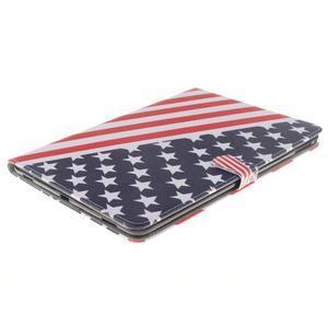 Knížkové puzdro pre tablet iPad Pro 9.7 - US vlajka - 3