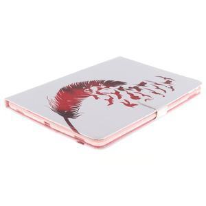 Knížkové puzdro pre tablet iPad Pro 9.7 - vtačie pierko - 3