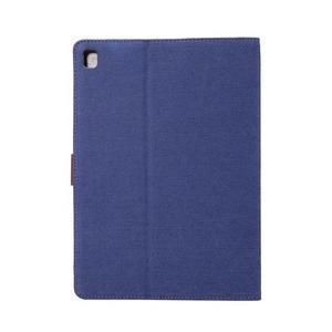 Jeans štýlové puzdro pre iPad Pro 9.7 - tmavomodré - 3