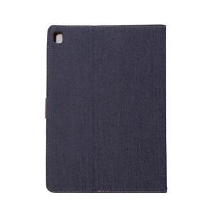 Jeans stylové pouzdro na iPad Pro 9.7 - černomodré - 3
