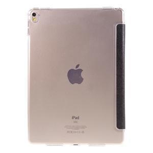 Trifold polohovateľné puzdro pre tablet iPad Pro 9.7 - čierne - 3