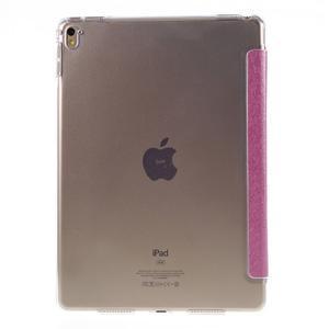 Trifold polohovatelné pouzdro na tablet iPad Pro 9.7 - rose - 3