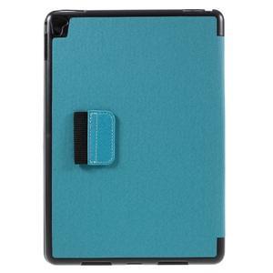 Clothy PU kožené puzdro pre iPad Pro 9.7 - svetlomodré - 3