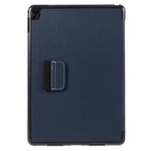 Clothy PU kožené pouzdro na iPad Pro 9.7 - tmavěmodré - 3