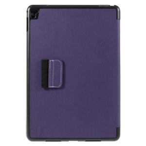 Clothy PU kožené puzdro pre iPad Pro 9.7 - fialové - 3