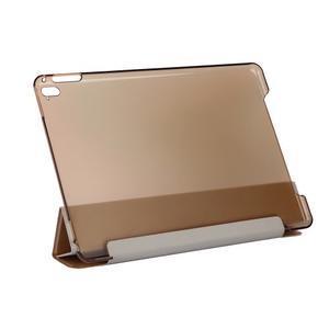 Extra origami polohovatelné pouzdro na iPad Pro 9.7 - zlaté - 3