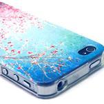 Emotive gélový obal pre mobil iPhone 4 - kvetoucí vetvičky - 3/4