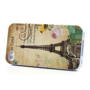 Gelový obal na iPhone 4 - Eiffelova věž - 3