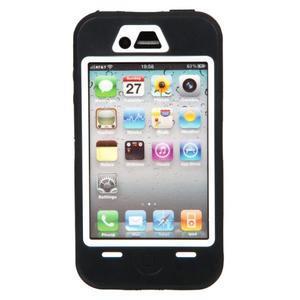 Armor vysoce odolný obal pre iPhone 4 - čierne - 3