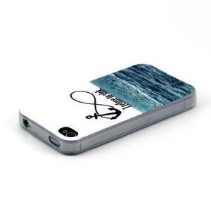 Emotive gelový obal na mobil iPhone 4 - kotva - 3