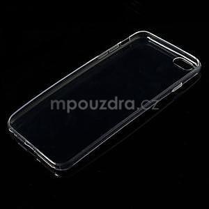 Ultra slim lesklý gélový obal pre iPhone 6 Plus a 6s Plus - transparentný - 3