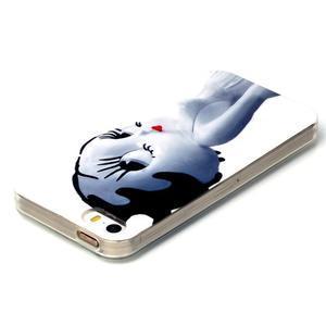 gélový obal pre mobil iPhone SE / 5s / 5 - mačička - 3