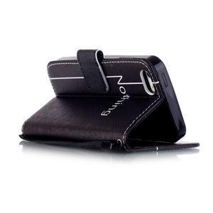 Peňaženkové puzdro pre mobil iPhone SE / 5s / 5 - nothing - 3