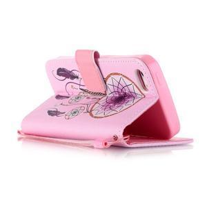 Peňaženkové puzdro pre mobil iPhone SE / 5s / 5 - dream - 3