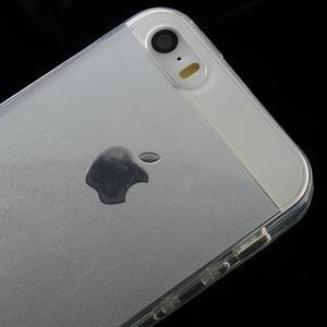 gélový Transparentný obal pre iPhone SE / 5s / 5 - 3