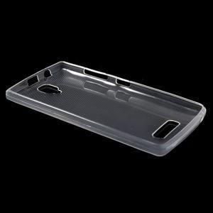 Ultratenký slim gelový obal na Lenovo A2010 - transparentní - 3