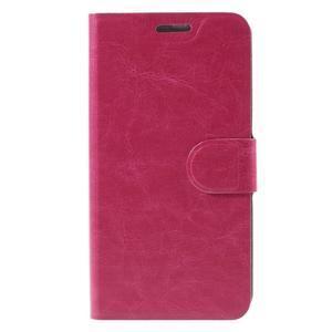 Horse peňaženkové puzdro pre Lenovo Vibe P1m - rose - 3