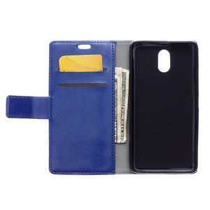GX koženkové peňaženkové pre mobil Lenovo Vibe P1m - modré - 3