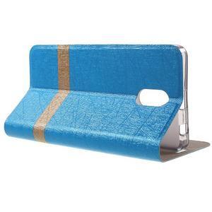 Klopové puzdro pre mobil Lenovo Vibe P1m - svetlo modré - 3