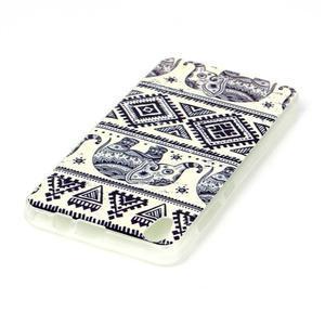 Softy gelový obal na mobil Lenovo S850 - sloníci - 3