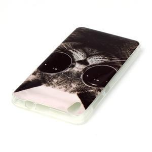 Softy gelový obal na mobil Lenovo S850 - cool kočka - 3