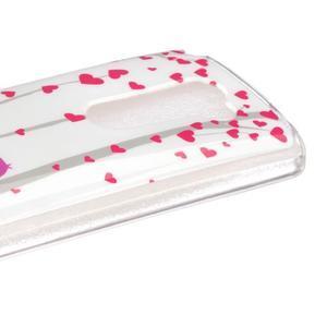 Jelly gélový obal pre mobil LG Leon - láska - 3