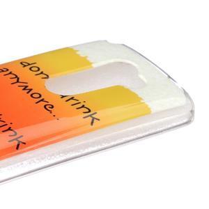 Jelly gelový obal na mobil LG Leon - drink - 3