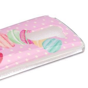 Jelly gelový obal na mobil LG Leon - makrónky - 3