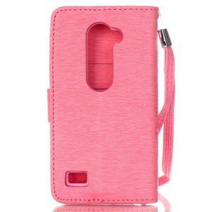 Magicfly pouzdro na mobil LG Leon - rose - 3