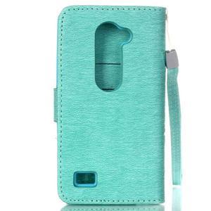 Magicfly puzdro pre mobil LG Leon - cyan - 3