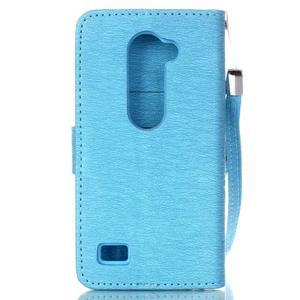 Magicfly pouzdro na mobil LG Leon - modré - 3