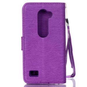 Magicfly puzdro pre mobil LG Leon - fialové - 3