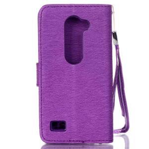 Magicfly pouzdro na mobil LG Leon - fialové - 3