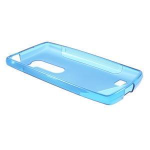 S-line gélový obal pre mobil LG Leon - modrý - 3