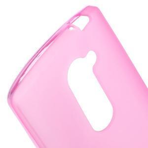 Matný gélový obal pre mobil LG Leon - rose - 3