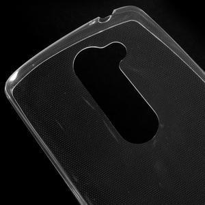 Ultratenký gélový obal pre mobil LG Leon - transparentný - 3