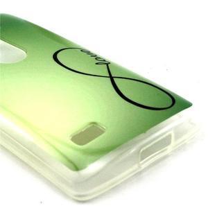 Pictu gelový obal na LG Leon - love - 3