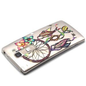 Transparentný gélový kryt pre mobil LG Spirit - snívanie - 3