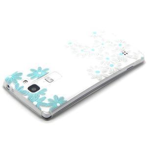 Transparentný gélový obal pre mobil LG Spirit - sedmokrásky - 3