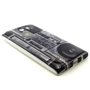 Gélový kryt na mobil LG Spirit - kazeťák - 3