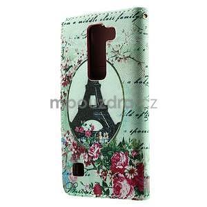 Peňaženkové puzdro na LG Spirit - Eiffelova veža - 3