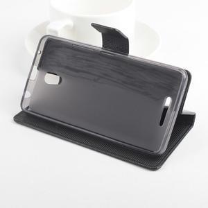GT peňaženkové puzdro na Lenovo A5000 - čierné - 3