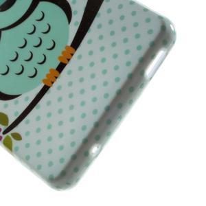 Gélový obal pre Sony Xperia Z3 mini - sova - 3