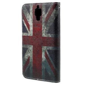 Cross peňaženkové puzdro na Xiaomi Mi4 - UK vlajka - 3