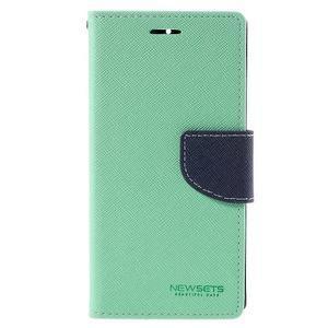 Mr. Fancy peňaženkové puzdro na Xiaomi Mi4 - azurové - 3